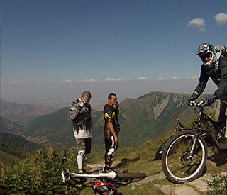 extreme downhill mountain bike Macedonia